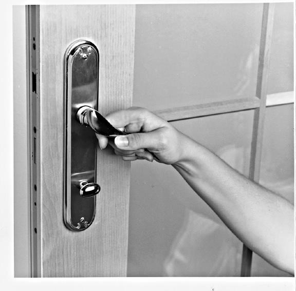 & Locking and unlocking entry doors